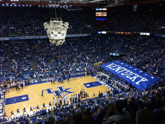 Rupp Arena University of Kentucky 2014