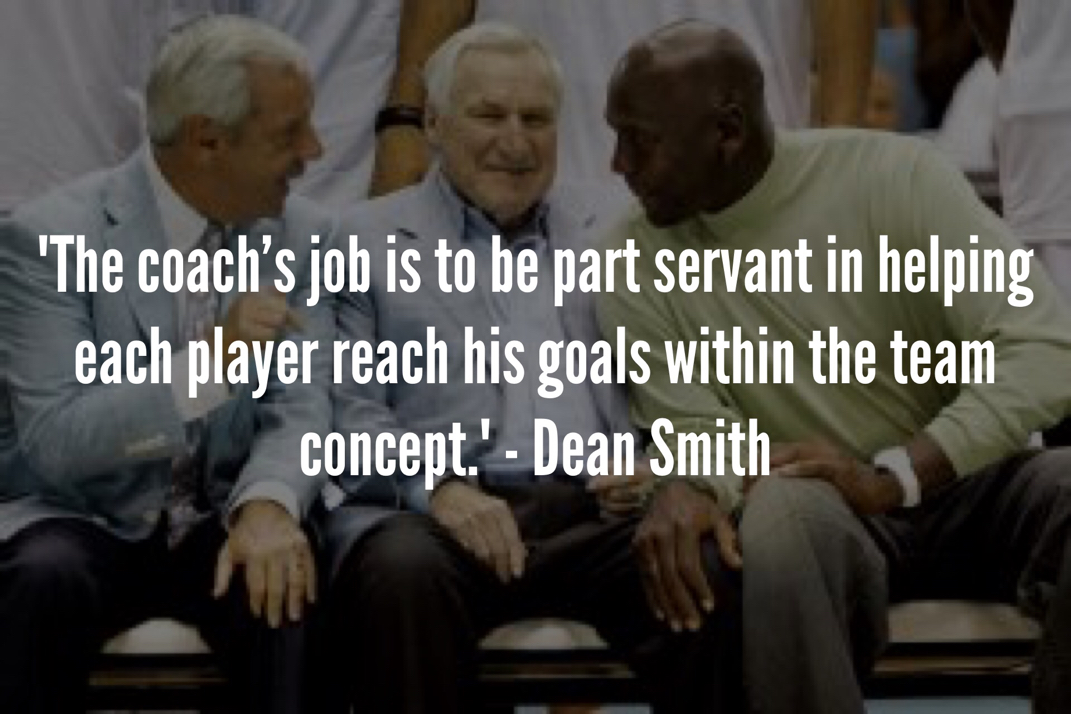 dean smith servant leadership