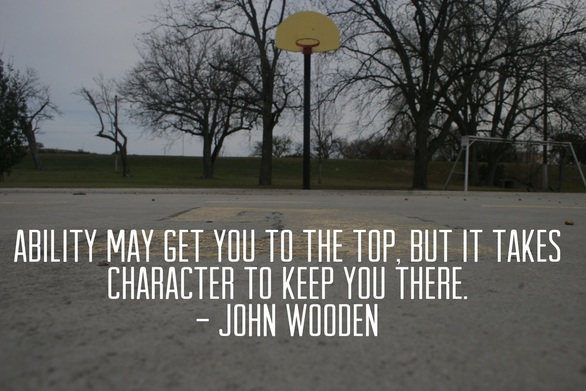 abililty and character john wooden